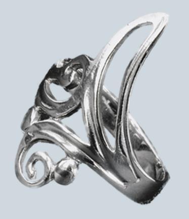 925 sterling ezüst gyűrű-0