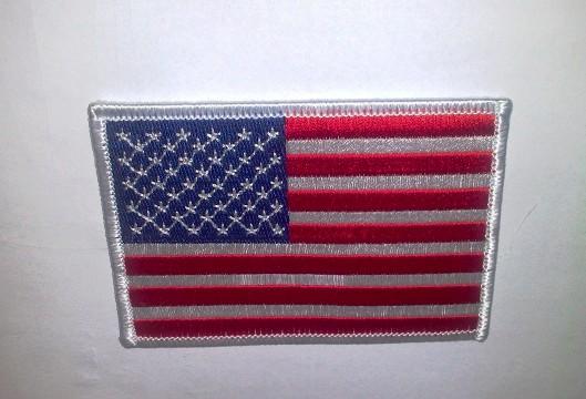Amerikai zászló felvarró-0