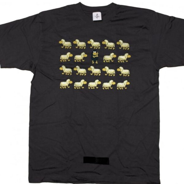 Black Sheep póló 2 színben-0