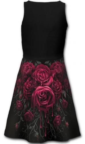 Blood Rose midi ruha-2456