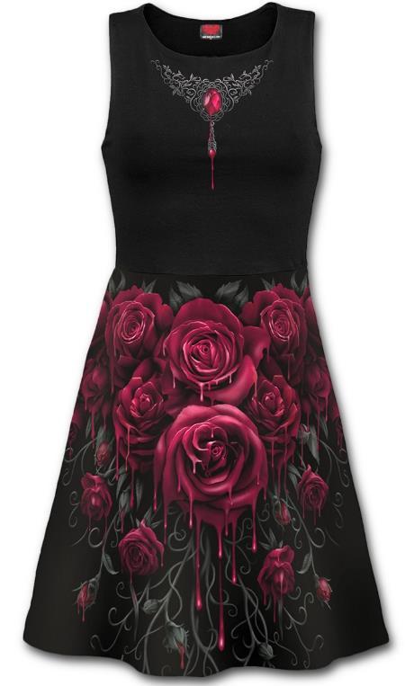 Blood Rose midi ruha-0