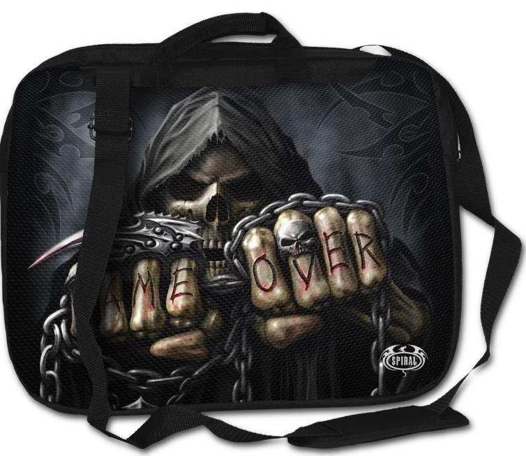 Game Over laptop táska-0
