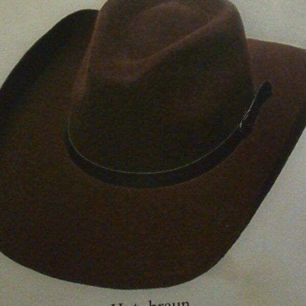 Gyapjúfilc westernkalap, 48,50-0