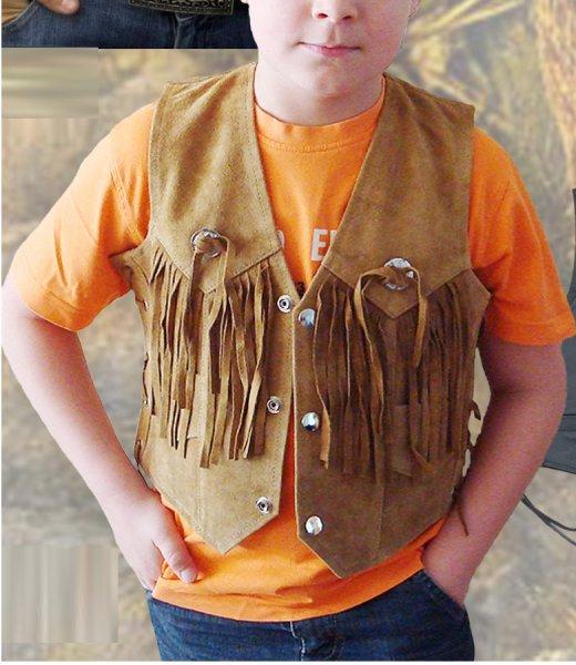 Gyerek western mellény-0