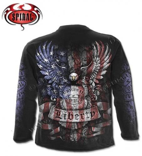 Liberty USA hosszúújjú póló