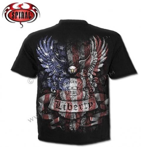 Liberty USA Spiral póló