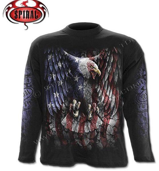 Liberty USA hosszúújjú póló-0