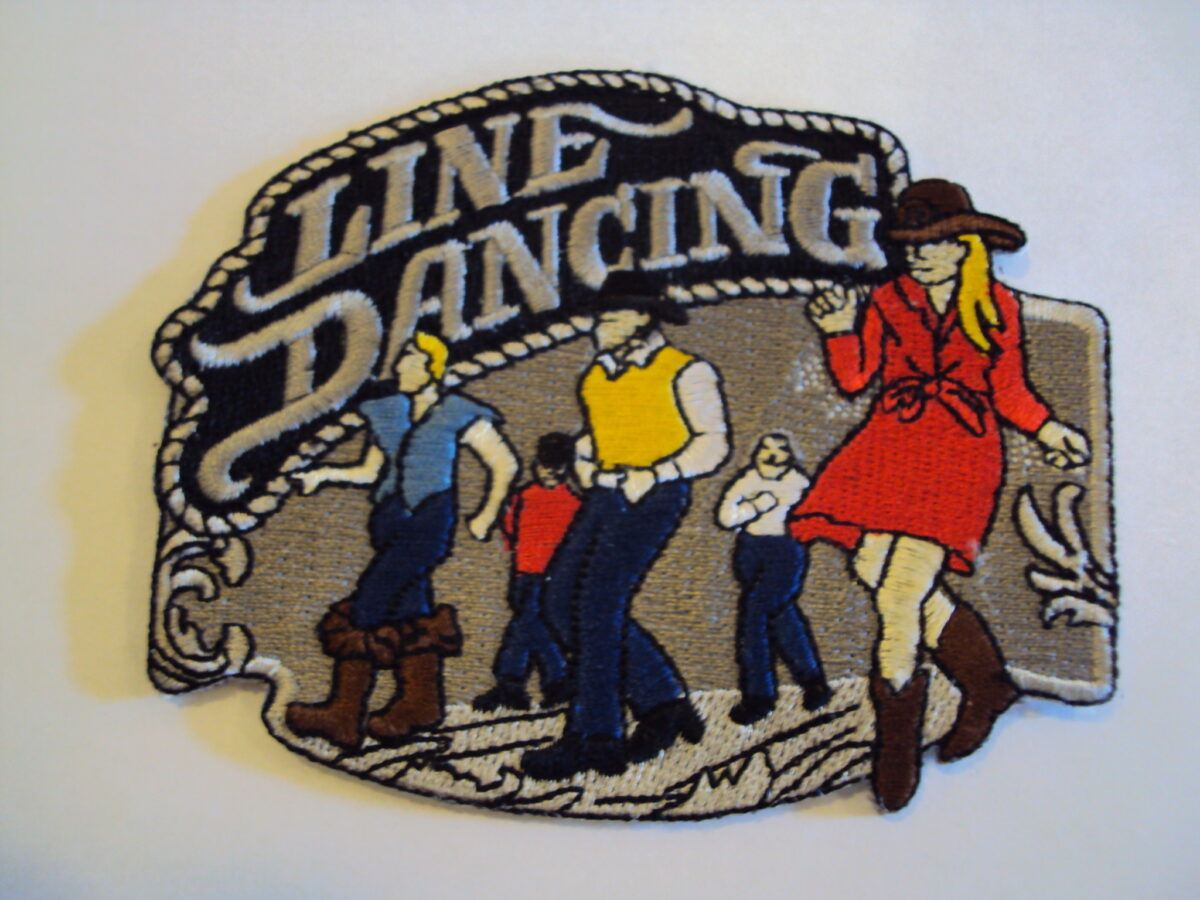 Line dancing felvarró-0