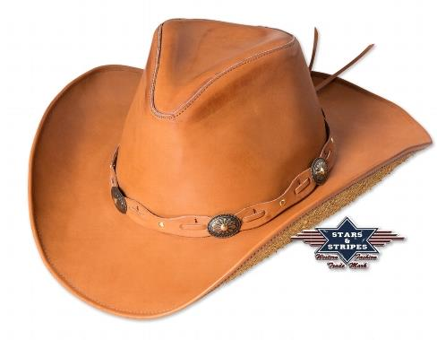 Luke western bőrkalap 2 színben-0
