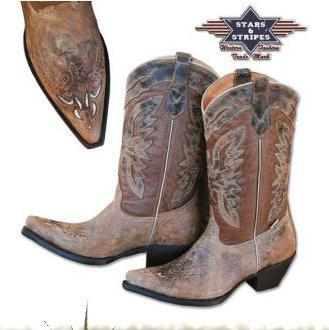 Női western csizma-0