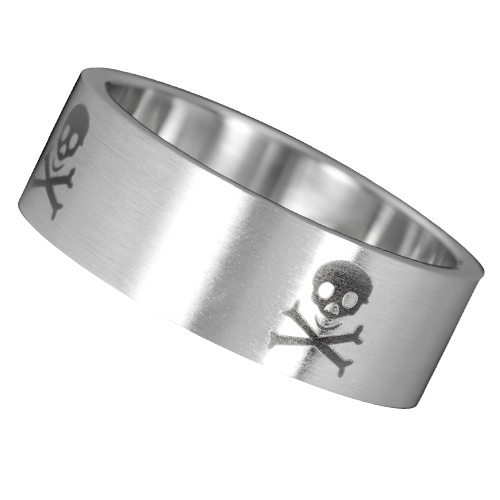 Nemesacél gyűrű-0