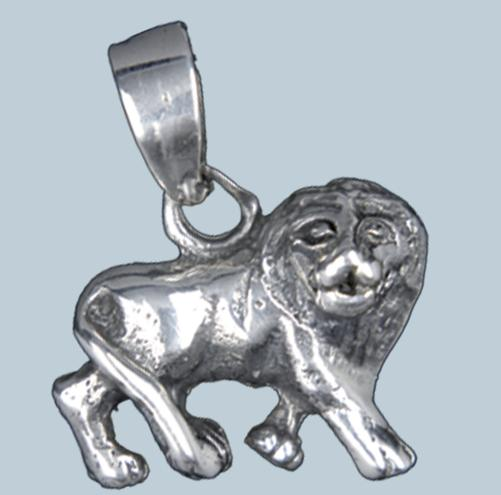 Oroszlán ezüst medál-0