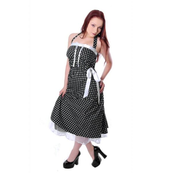 Rockabilly Petticoat Polka Dot ruha-0