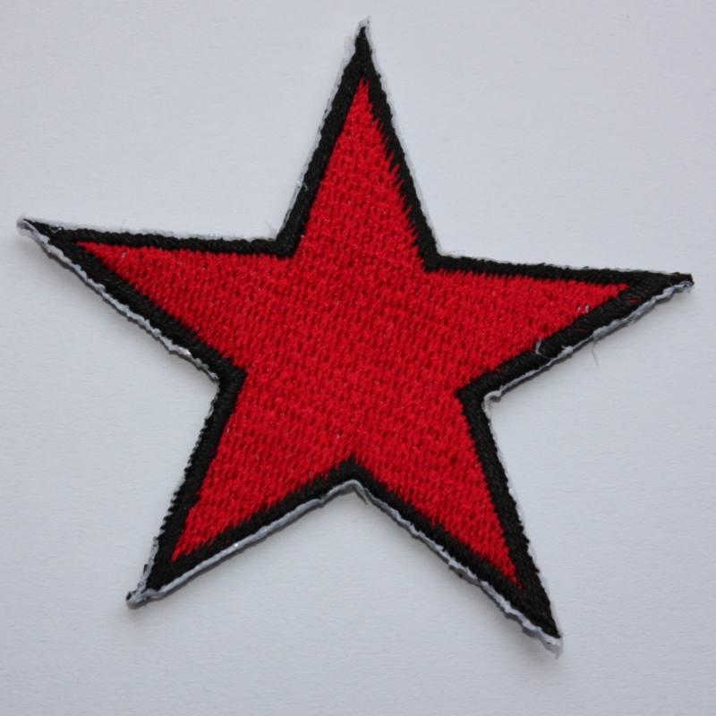 Vörös csillag felvarró-0