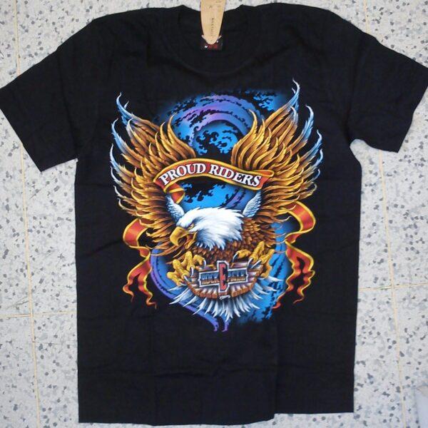 Rock eagle motoros póló-0