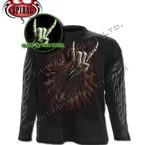 Rock salute hosszúújjú póló,XL-0