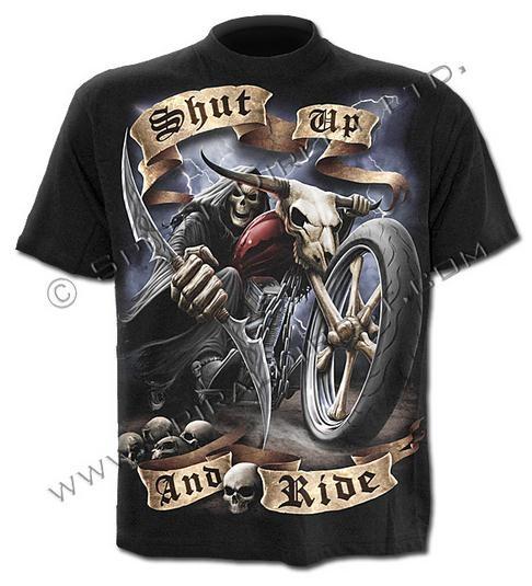Shut Up And Ride póló-0