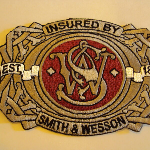 Smith & Wesson felvarró-0