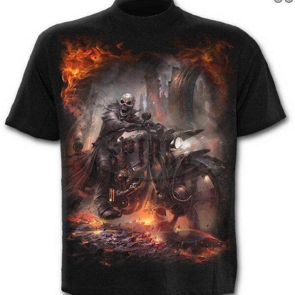 Steam Punk Rider póló-0