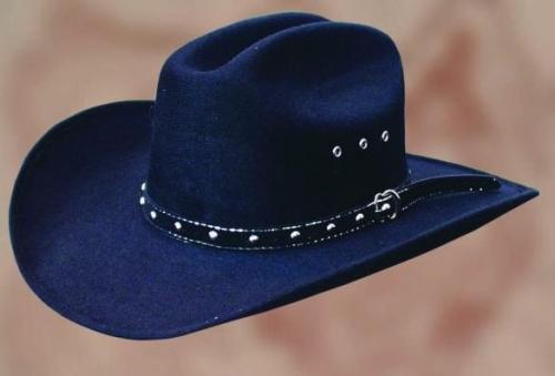 Tucson fekete westernkalap-0