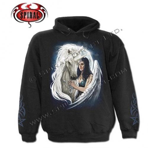 Unicorn Angel kapucnis pulóver