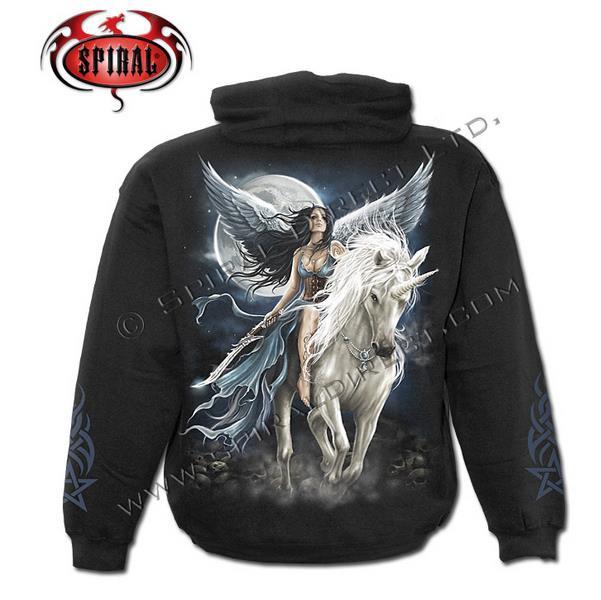 Unicorn Angel kapucnis pulóver 2XL-0