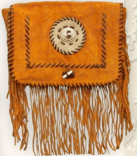 Velúr western táska 2 színben-0