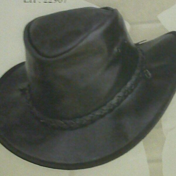 Western bőrkalap-0