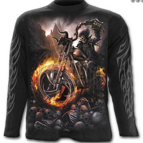 Wheels of Fire hosszúujjú póló-0