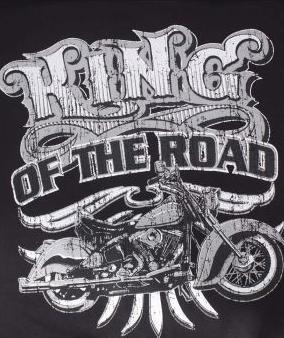 King of the road póló-0