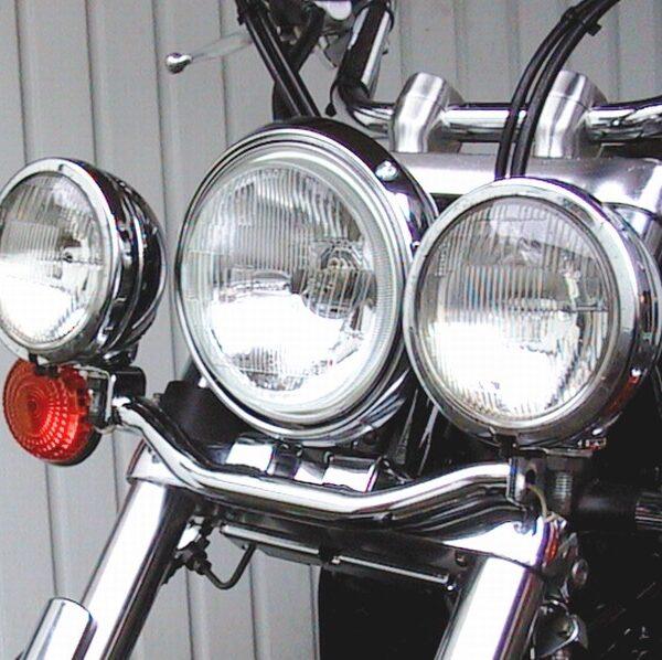Lámpatartó pótlámpákhoz, Yamaha XVS 650 Drag Star Classic-0