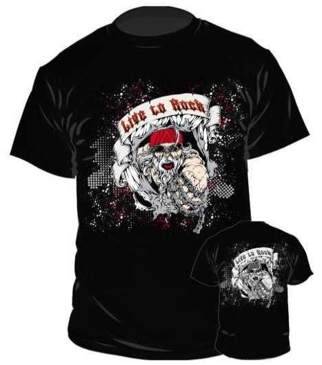 Live To Rock motoros póló-0