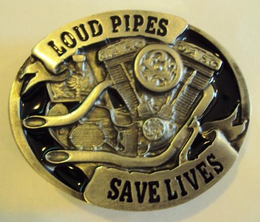Loud Pipes Save Lives motoros övcsat-0