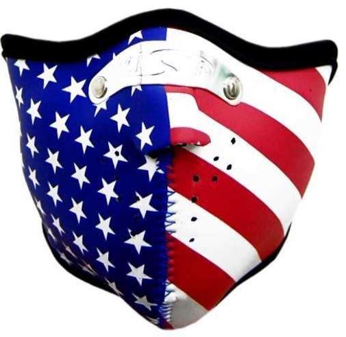 Motoros maszk, USA-0