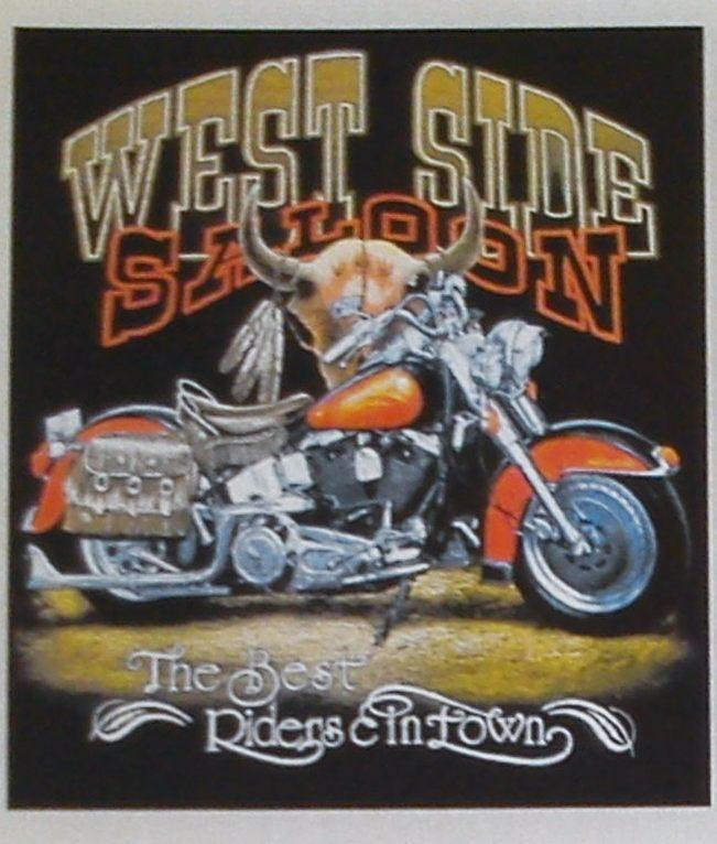 West Side motoros póló-0