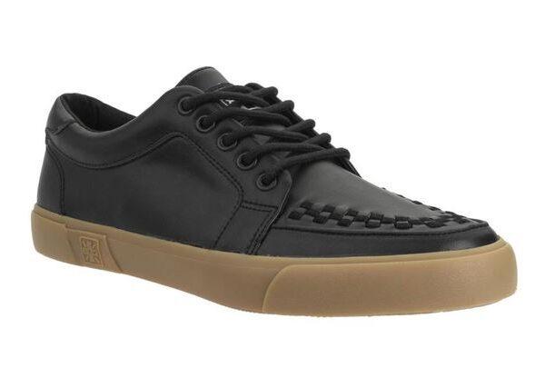 T.U.K. Sneaker Black Leather-0
