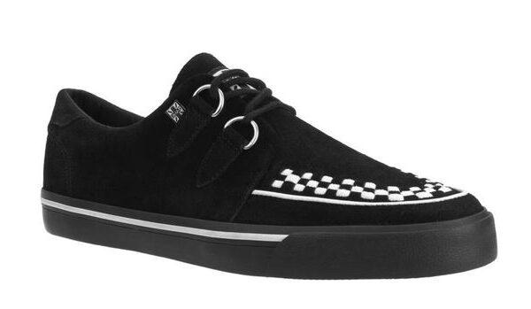 T.U.K. Sneaker Black White-0