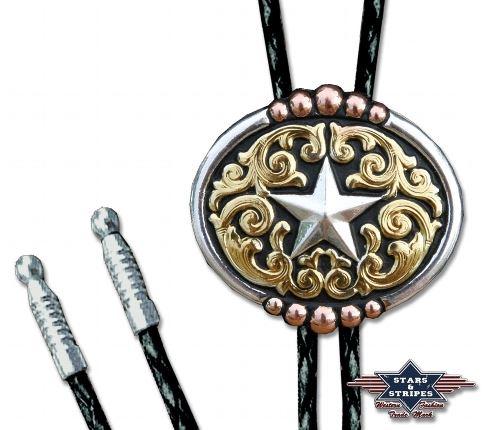 Amerikai Nyakkendő Csillag Motívummal-0