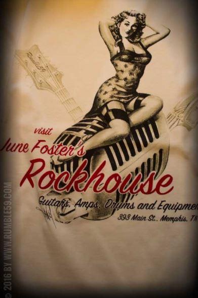 Rockabilly póló