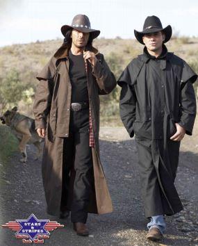 Trail Western Kabát Fekete vagy Barna-0