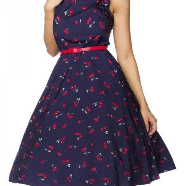 Cseresznyés vintage ruha, S-0
