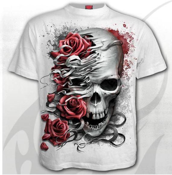 Skulls N' Roses póló-0