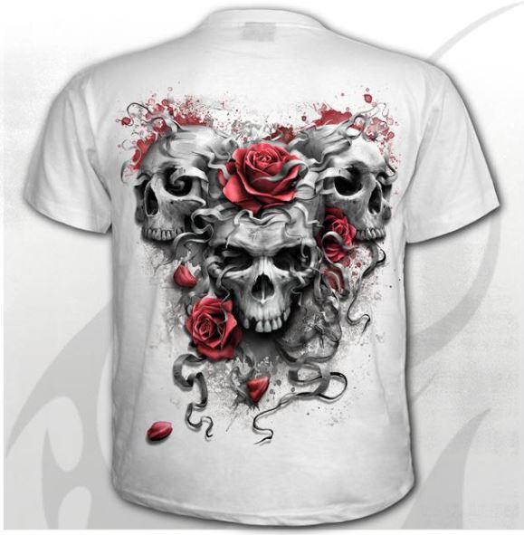 Skulls N' Roses póló