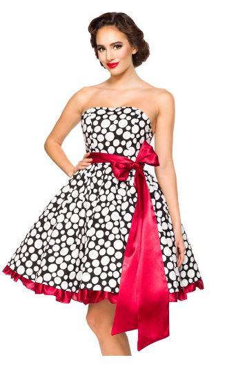Belsira Vintage Rockabilly ruha-0