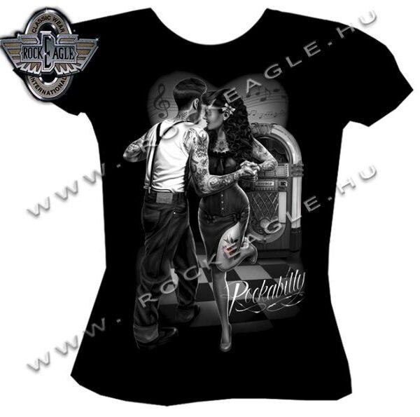 Női Rockabilly póló-0