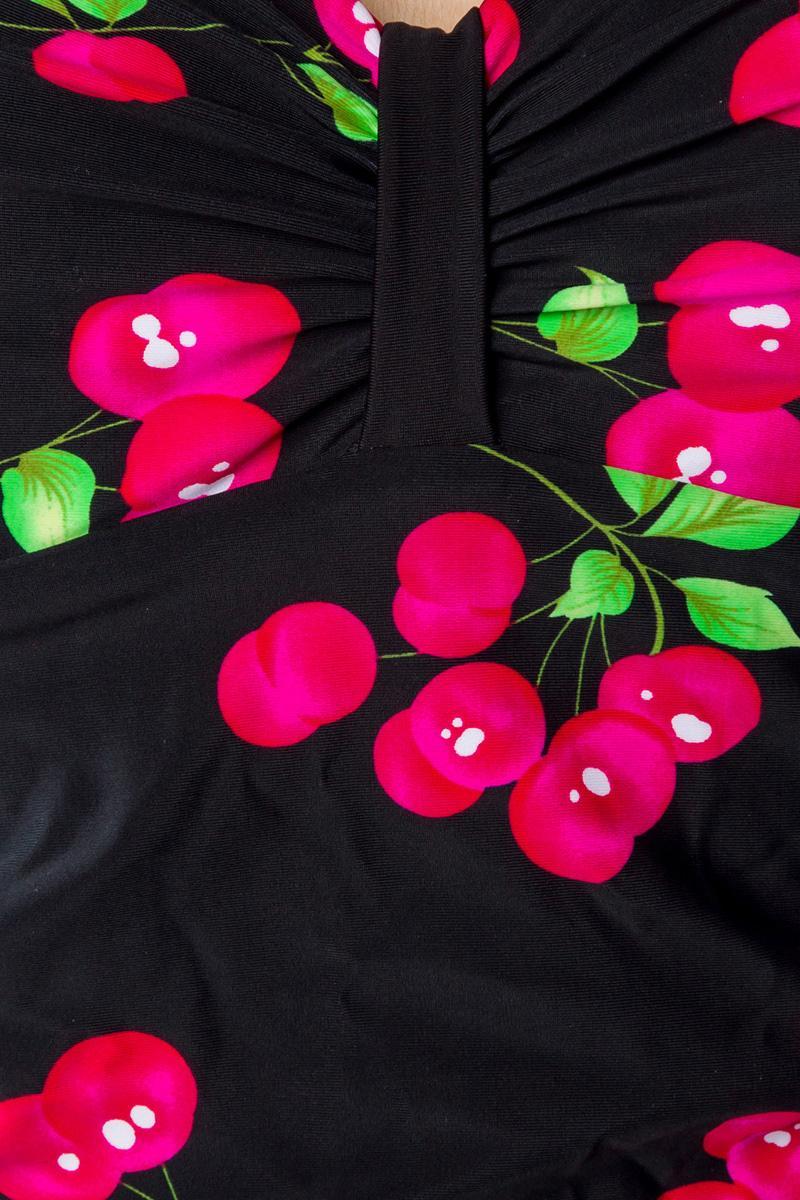 Cseresznyés Retro Fürdőruha