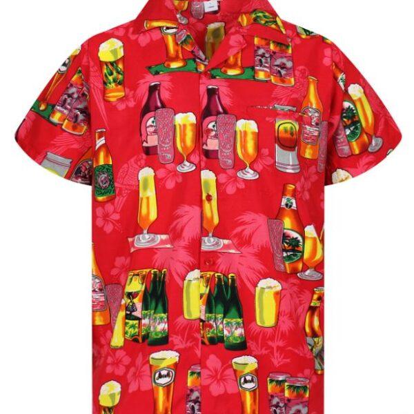 Klasszikus rövid ujjú Hawaii ing-0