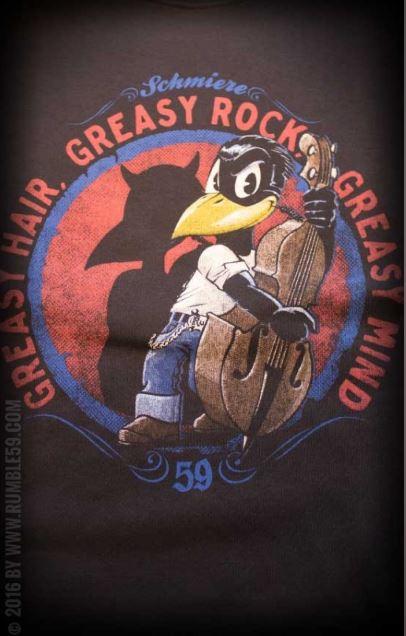 Greasy Rock rockabilly póló