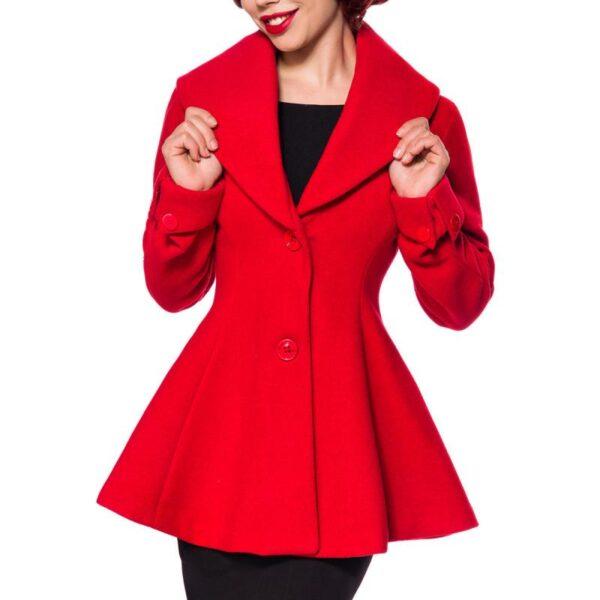 Belsira Prémium kabát, piros-0