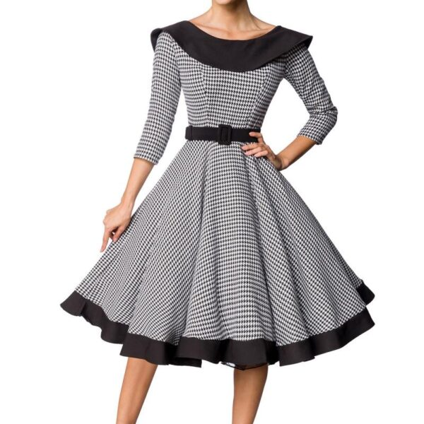 Prémium Vintage Swing ruha-0